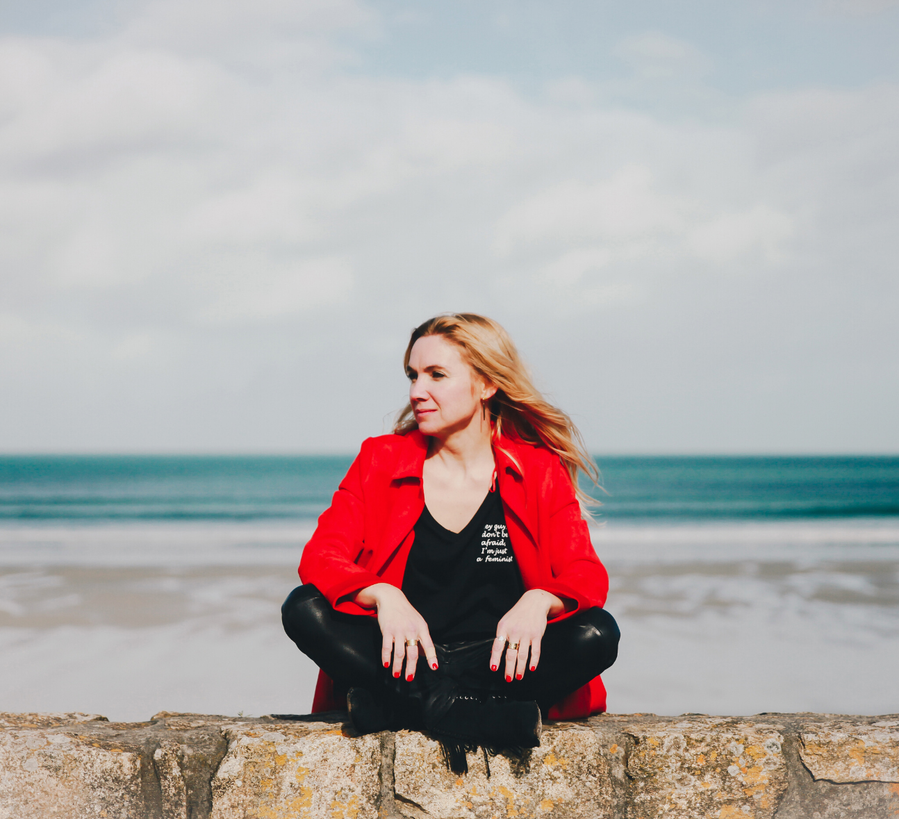 Sabine, fondatrice de l'agence Blue Ocean Web