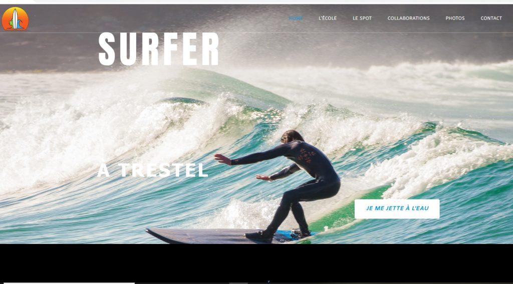 L'univers de l'école de surf ANS